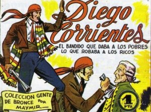 Diego Corrientes comic